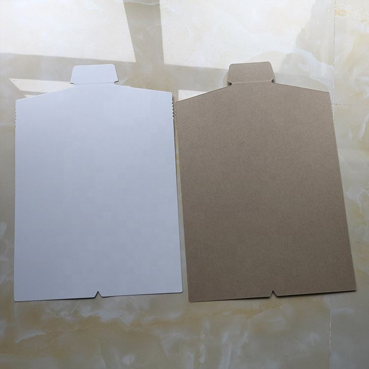 Commonly Used Custom 450GSM Grey Cardboard Folding Paper Packaging Lining Shirt Collar Inserts