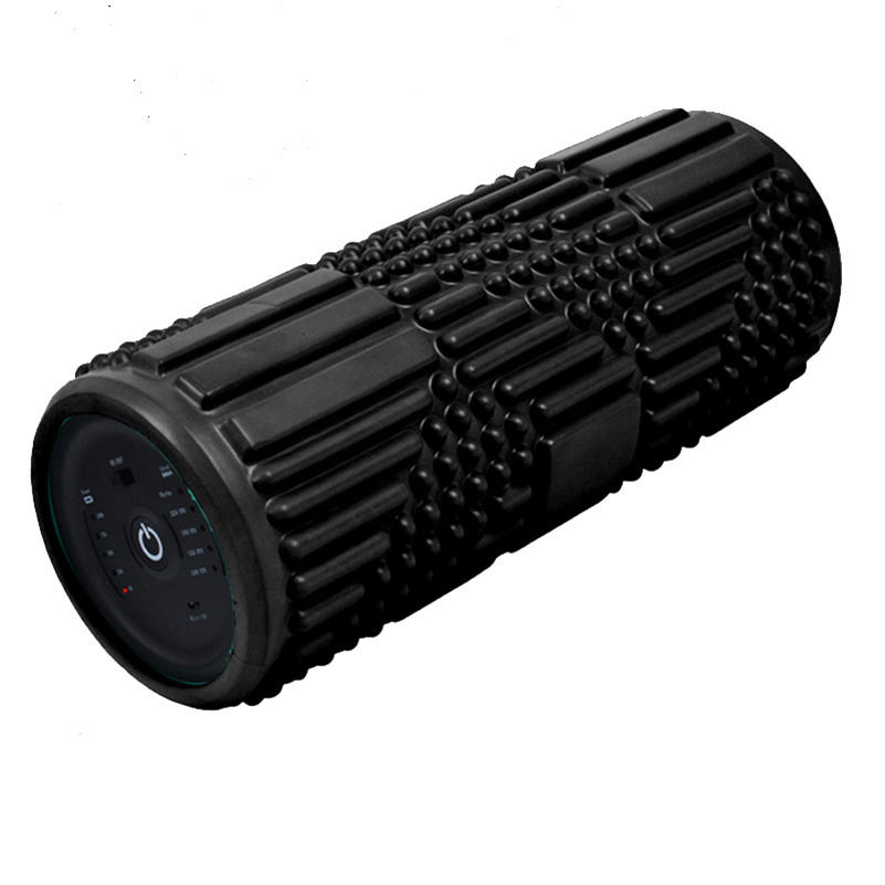 back pain foam roller massage vibration, Gym Equipment Muscle Relief Silicone foam roller vibrating gym equipment fitness