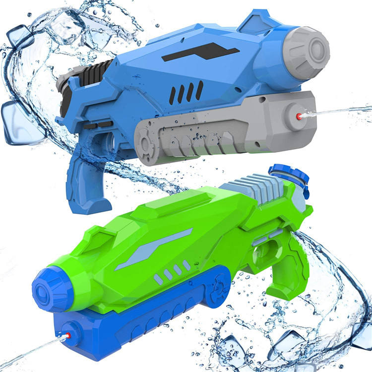 Wholesale Cheap Price 2 Pack Toy Water Pressure Gun Summer Water Gun for small Kids Outdoor