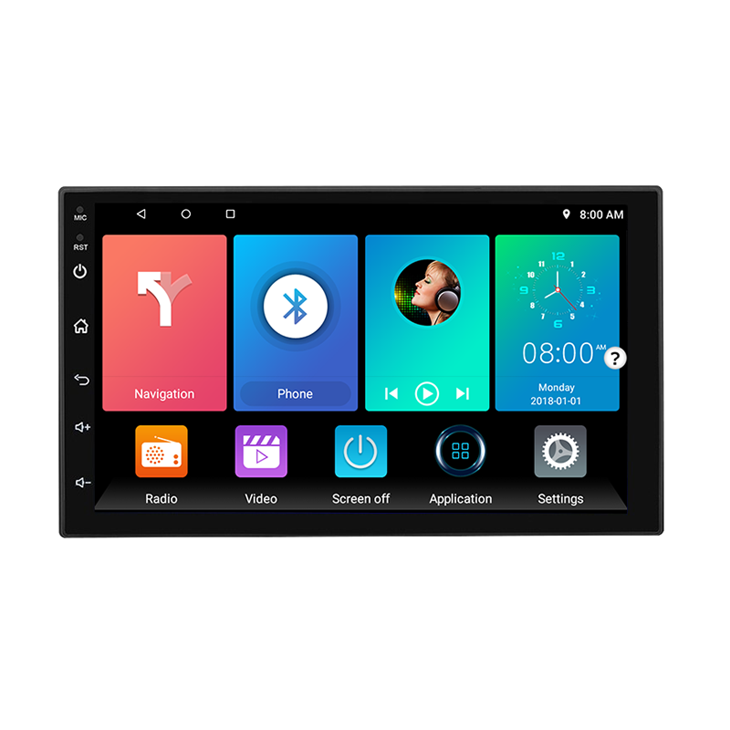 Android 7/8 1/10 Bluetooth pantalla táctil completa de radio Wifi GPS video del coche