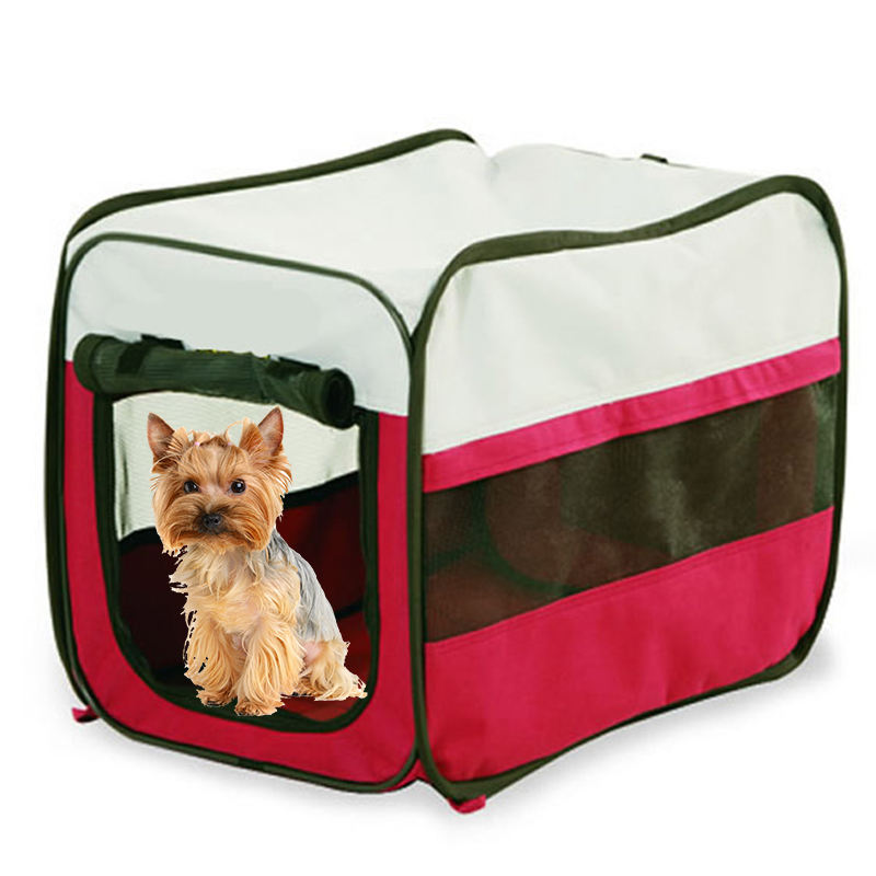 Pet Portable Crate for Dog Folding Soft Dog Crate Pet Kennel