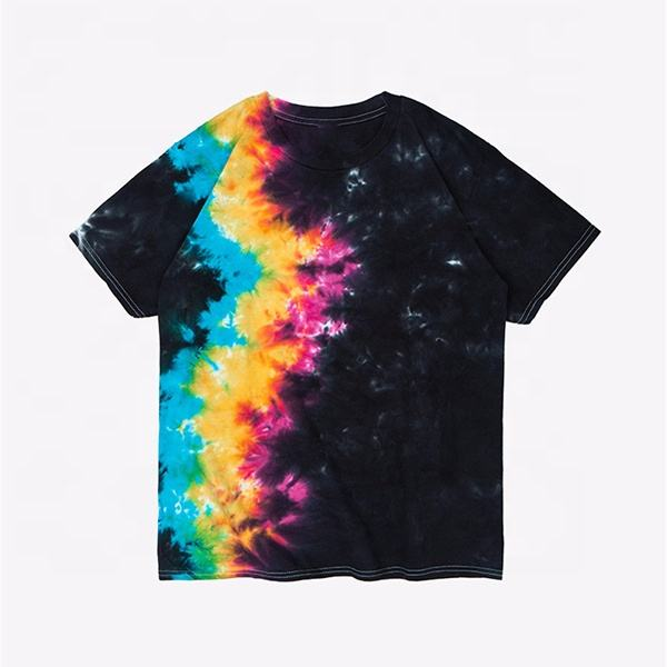 best tie dye 3D printing Custom Breathable colorful T Shirt Mens for sale online