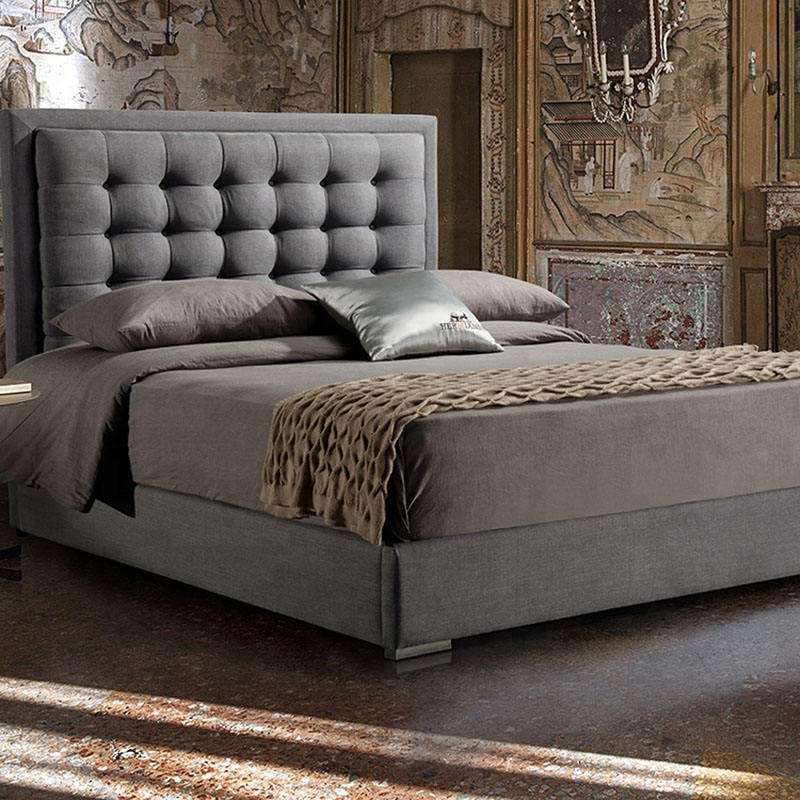 Home Premiere Classics Ultimate lit Latest Designs King Queen Size Wood upholstered Bed