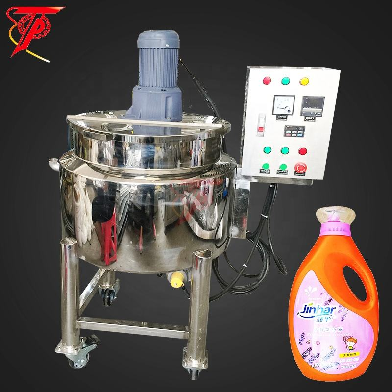 Chemicals making small liquid detergent soap mixer machine