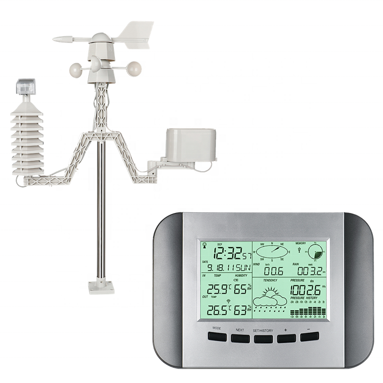 Good Quality Rf 433Mhz Home outdoor indoor display weather station