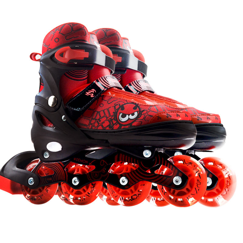 wholesale cheap led wheels light custom inline shoes roller skate for kids