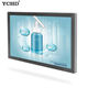 wall mounted touch screen computer advertising media player use for shopping mall