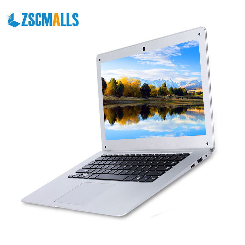 ZSCMALLS the best price Intel Four Cores Four Threads 4GB 14 inch mini pc lightweight notebook computer laptop