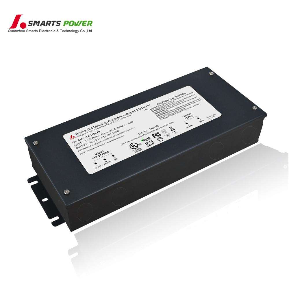 PWM output 12v 24v AC phase cut triac dimming LED driver work with forward phase leading edge TRIAC dimmers
