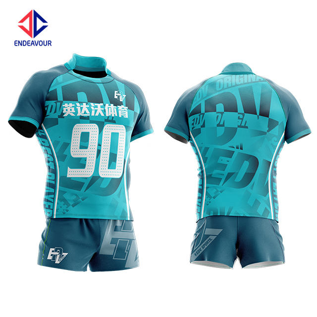 Custom latest design sublimated thick new zealand rugby shirt league jerseys uniform for sale