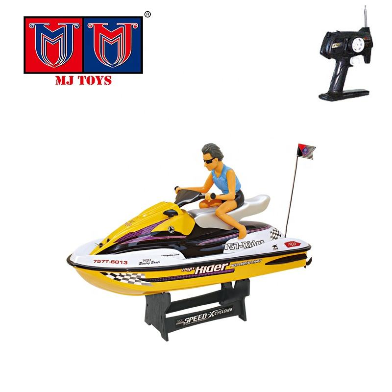 ABS hull competition model high speed toy fast rc boats with man
