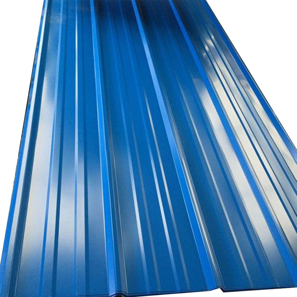 Longspand farbe verzinktem stahl well metall beschichtete dach materialien gebäude