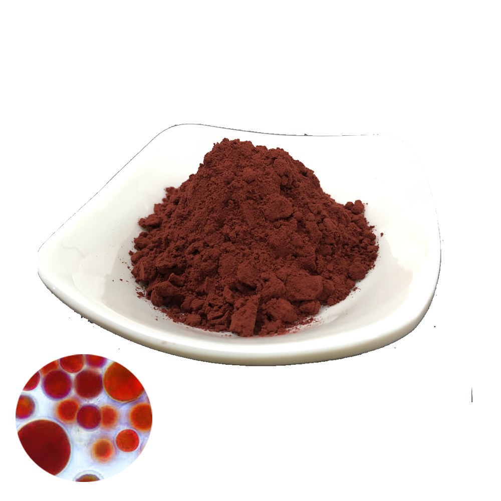 Hot Sale Natural Haematococcus Pluvialis Extract Vitamin Bulk Astaxanthin