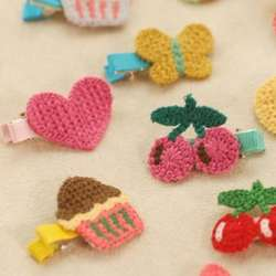 Top Selling Fashion Hand-woven clip hairpin baby girls hair pin clips baby headdress hair clip