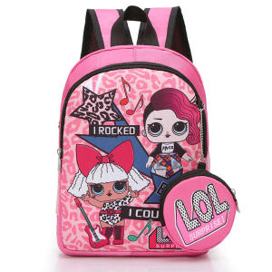 Kids Student Bookbag LOL Fornite Backpack Laptop Bag Travel Computer Bag for Boys Girls Teens Game Fans Gifts Roblox Backpack