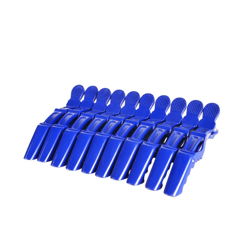 Wholesale Plastic Black Salon Styling Hairdressing Tools Alligator Hair Clips For Woman