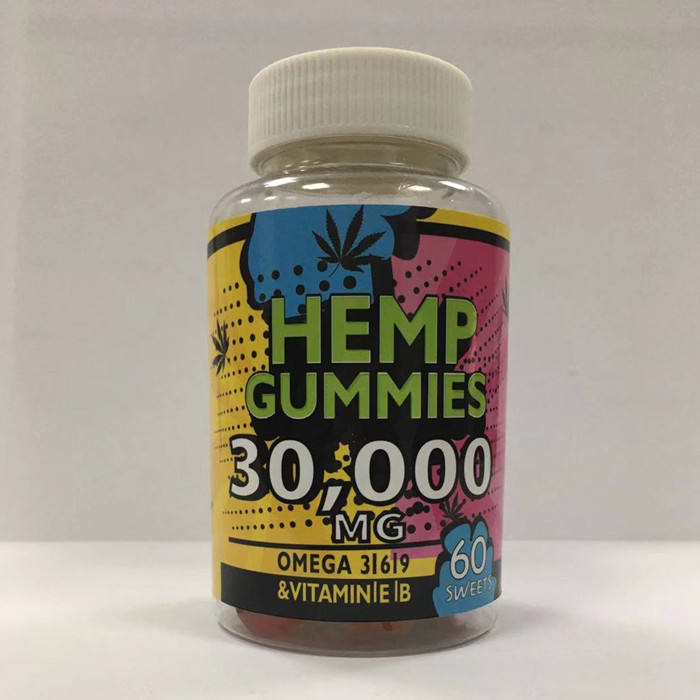 RTS Low MOQ CBD Gummy Bears 100% Natural & Safe Hemp Gummies Anxiety & Stress Relief Tasty & Relaxing