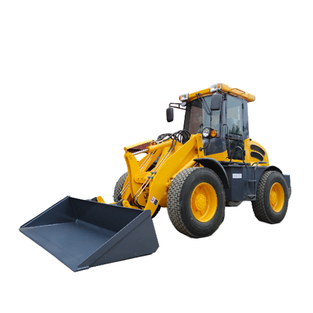 The compact wheel loaders manufacturer ships the front end loader