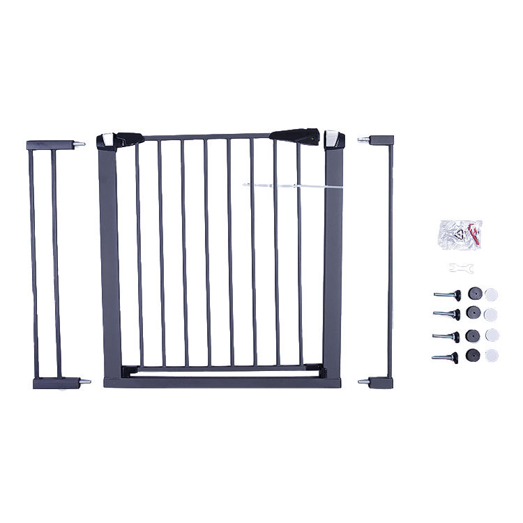 Easy Close Baby Safety Gates Adjustable Baby Gate Stair Gate