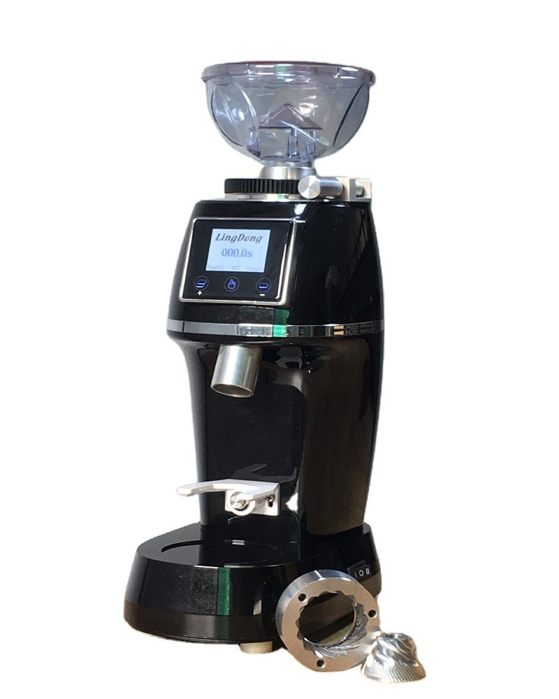Professional Touch-Screen Grinding Coffee Grinder electric commercial Espresso coffee grinder