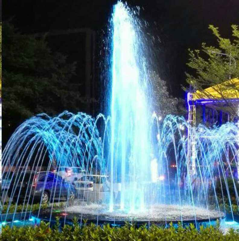 LED large light show water fountain equipment