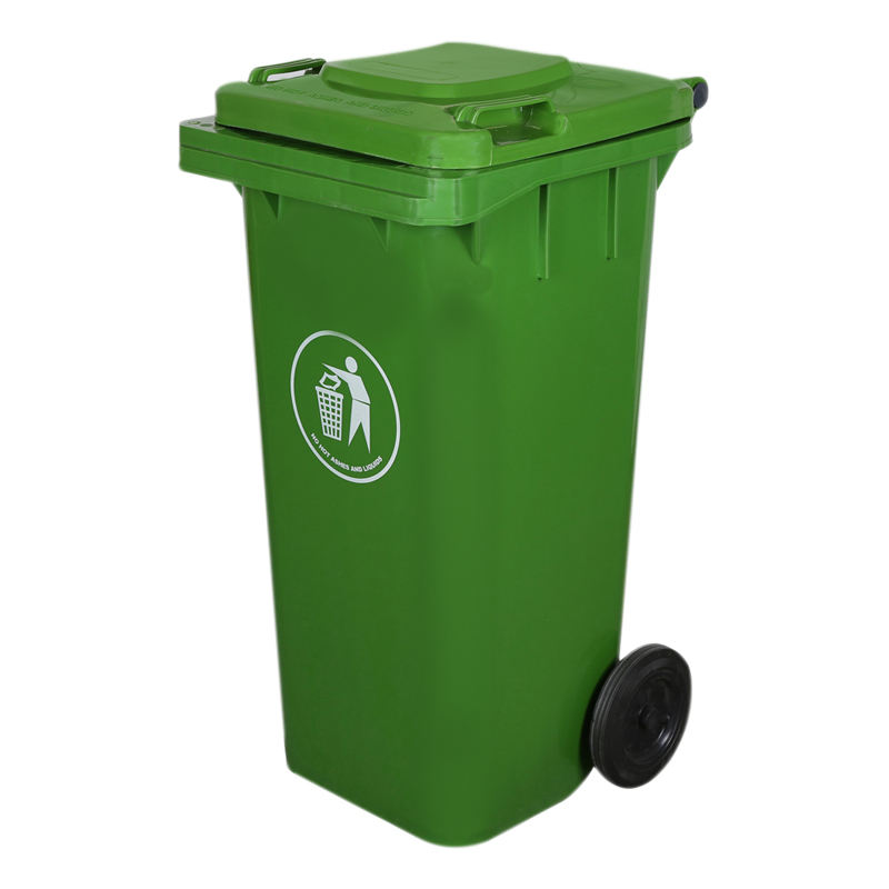 Outdoor 120L/240L Plastic wheeled waste bin garbage bin trash can