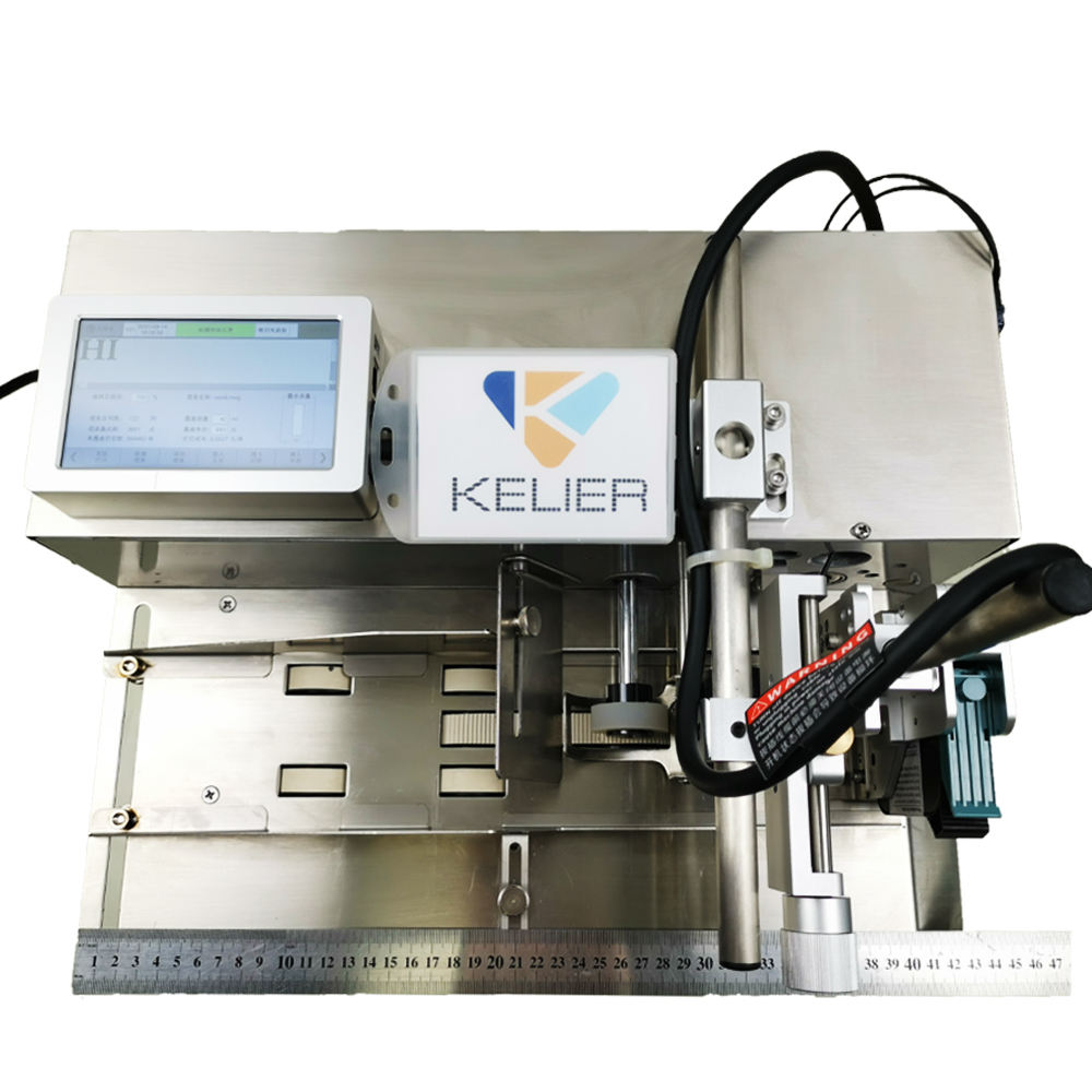 Kelier new KX380 digital online inkjet printer Multi Language industrial card inkjet printer
