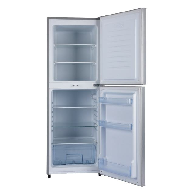BCD-198 12V/24V/sikelan Compressor Upright solar fridge for the kitchen used to household camping fridge freezer