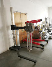 1.5KW-11KW Stainless steel 304 Pneumatic lifting disperser high speed mixer Supplier