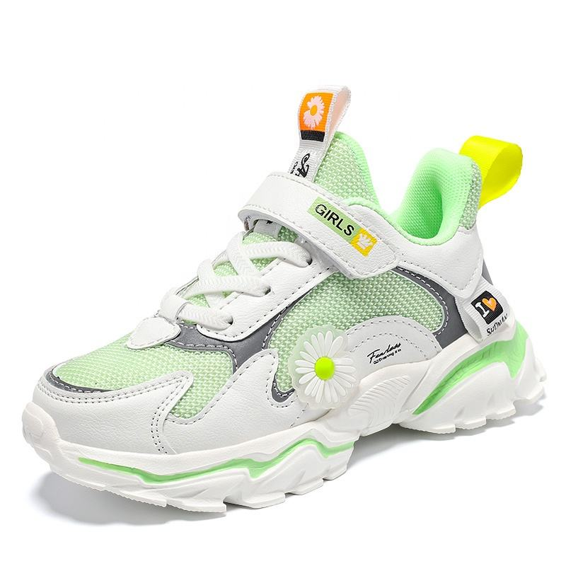 Size26-37 Fashion Custom Latest Running Kids Sneakers Girls Children's Sports Casual Shoes