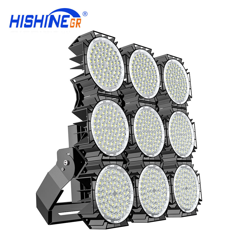 Hollow module design Led High Mast Lighting 1000W Sports Led Stadium Light