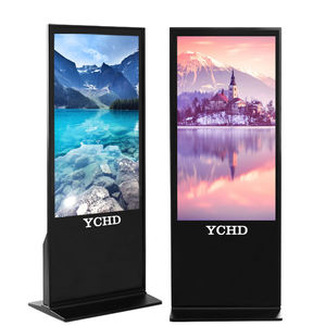 65 Inch Digital Signage Display Interactief Touch Screen Kiosk Android Reclame Spelers Met Software