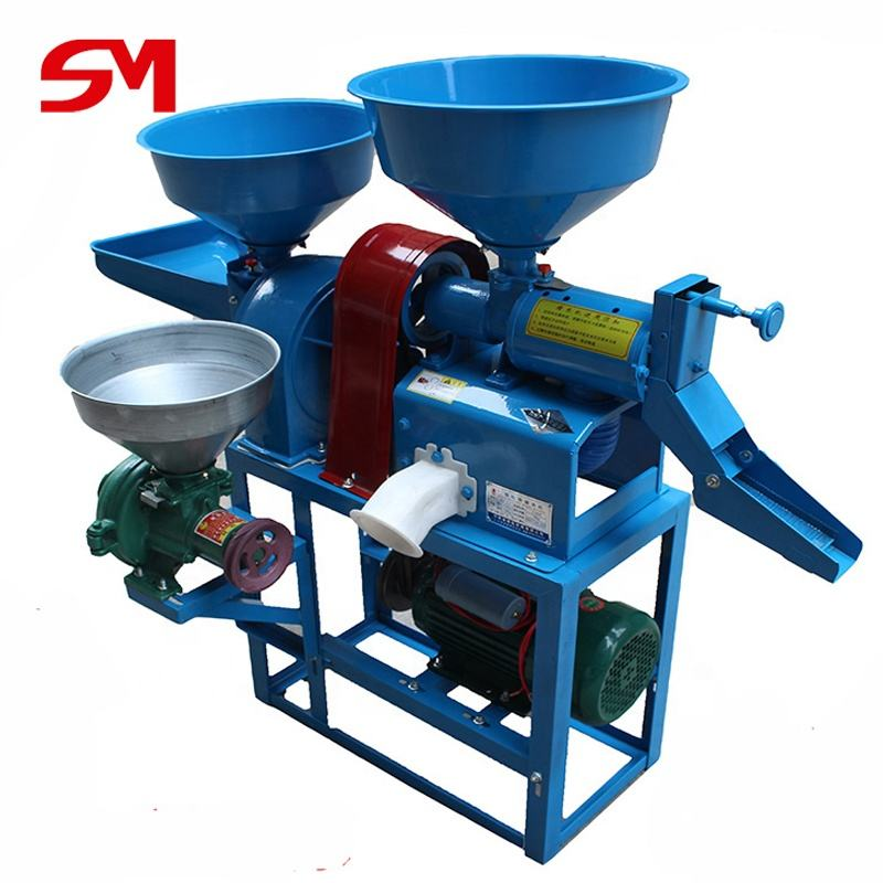 High Capacity Commercial Price Mini Rice Mill Peeling Milling Machine