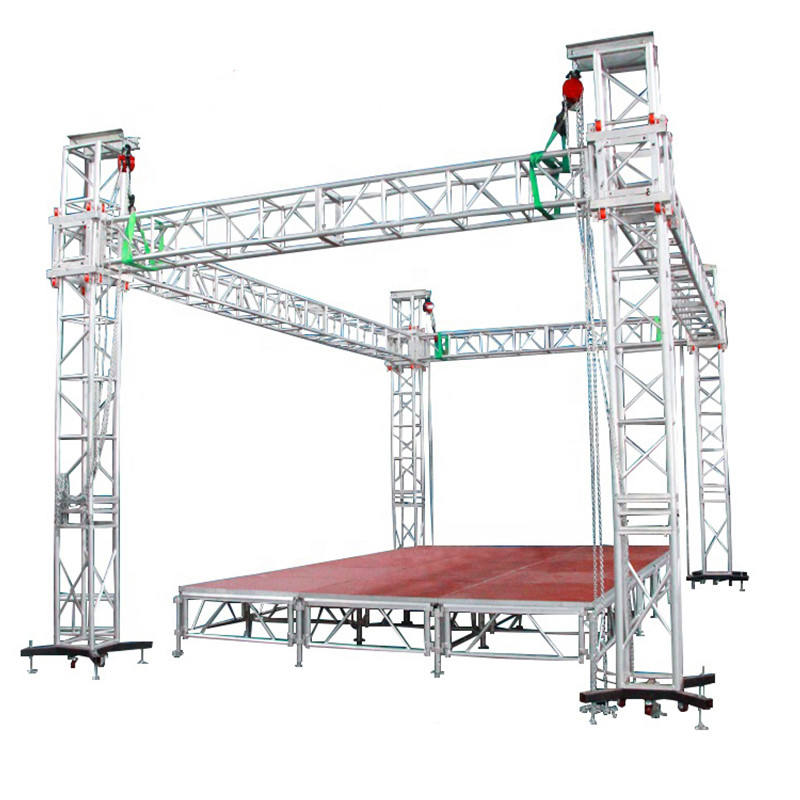 Hot Sale 300mm Aluminum Stage Light Truss Structure For Outdoor Concert Event