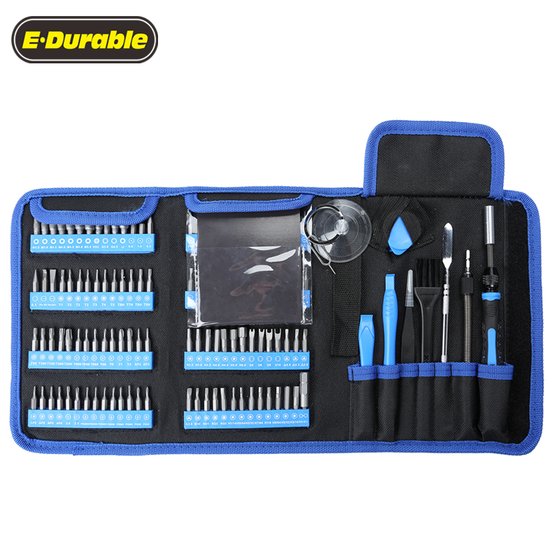 126-in-1 multi-function household repair screwdriver tool kit for phone laptop electronics