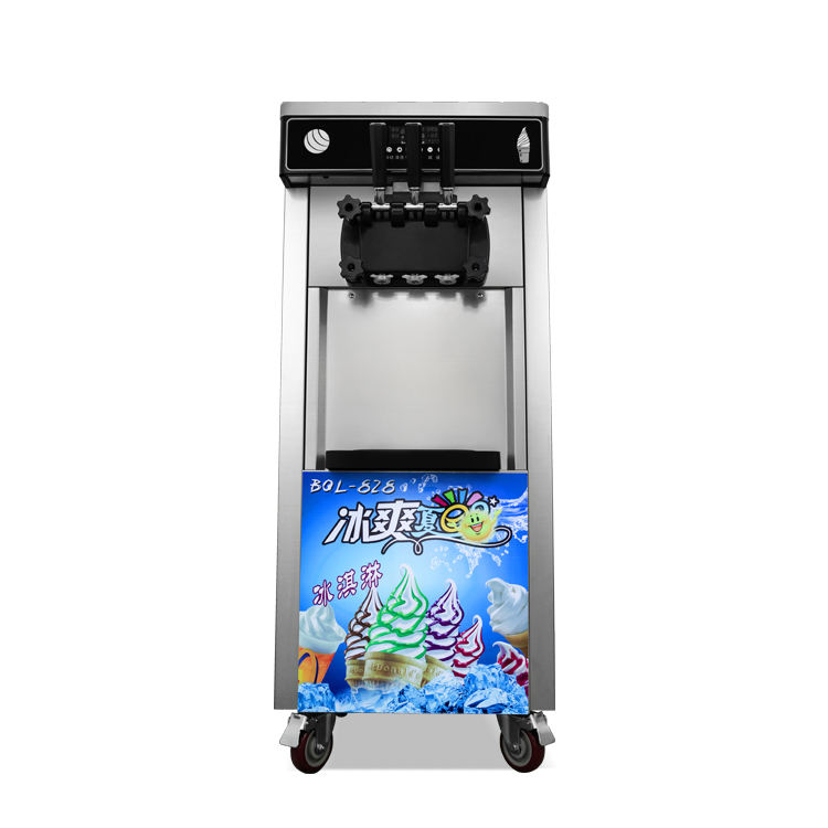 wholesale price commercial high output soft ice cream machine