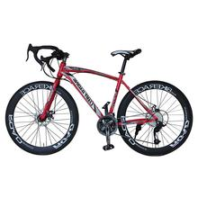 China bicycle bulk 700C  27.5 inch 27 speed steel frame road racing bike OEM road touring bicycle velo sepeda roadbike