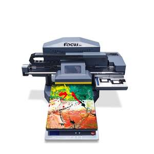 A3 Inkjet digital led UV flatbed printing machine pvc card printer