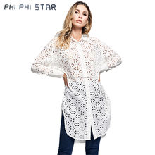 China Autumn 100% Cotton Lapel ODM Women Custom Long Sleeve Shirt