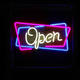 Neon Open Sign Letters Led Neon Light Outdoor Bar Open Sign Indoor Board Open Neon Sign