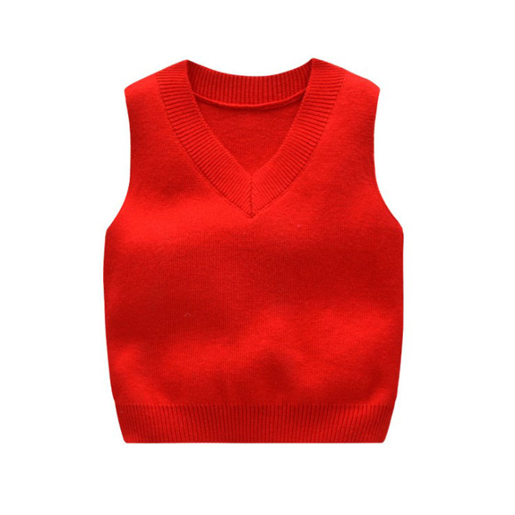 Wholesale New style spring and autumon children's sweater cardigan kids vest