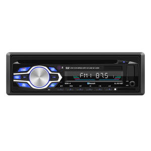 Quatro tom estéreo de Rádio do carro DVD CD Player Do Carro Do Bluetooth MP3 Player de Áudio de Rádio FM de Música USB/SD com no Traço de Entrada AUX 12V 24V