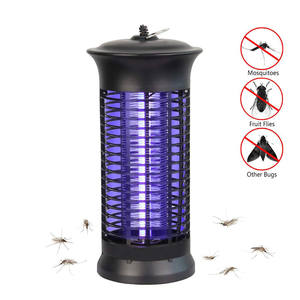 6W Led Muggen Killer Lamp Bug Zapper, Elektrische Vliegende Zapper Met Uv Licht