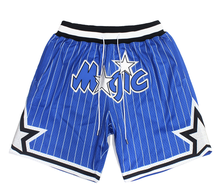 custom made hip hop Orlando sublimation magic polyester dry fit just mens don embroidery mesh basketball shorts with logo