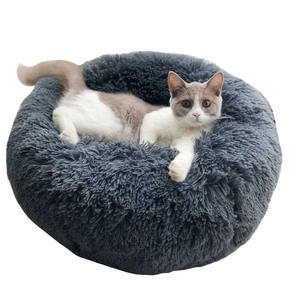 Ready to Ship Many Sizes Stock Winter Warm Luxury Plush Cat House Dog Pet Products Pet Bed