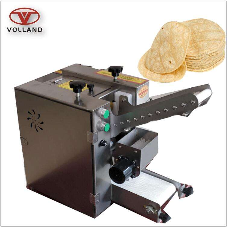 pita bread forming machine/wonton skin maker/compact chapati roti making machine