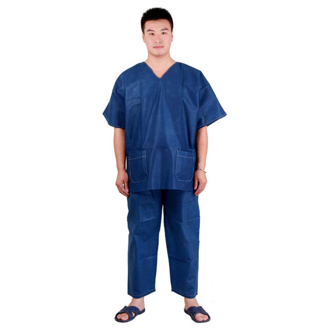 Free sample Comfortable Disposable scrubs for doctor use