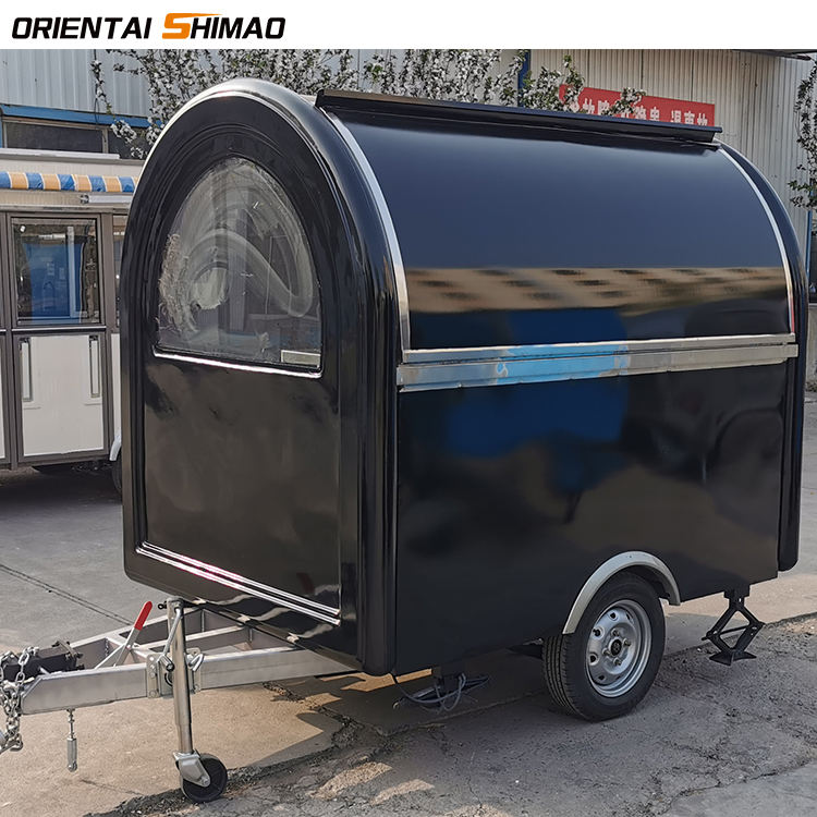 New customized mobile kitchen car Hot Dog bakery food cart trailer for sale
