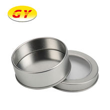 Custom round container tin box metal box for candy