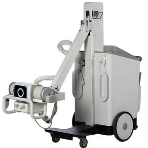 Professional Digital xray Mobile xray with detector, 32KW Xray Digital X-ray equipment Radiology DR System MSLDR09